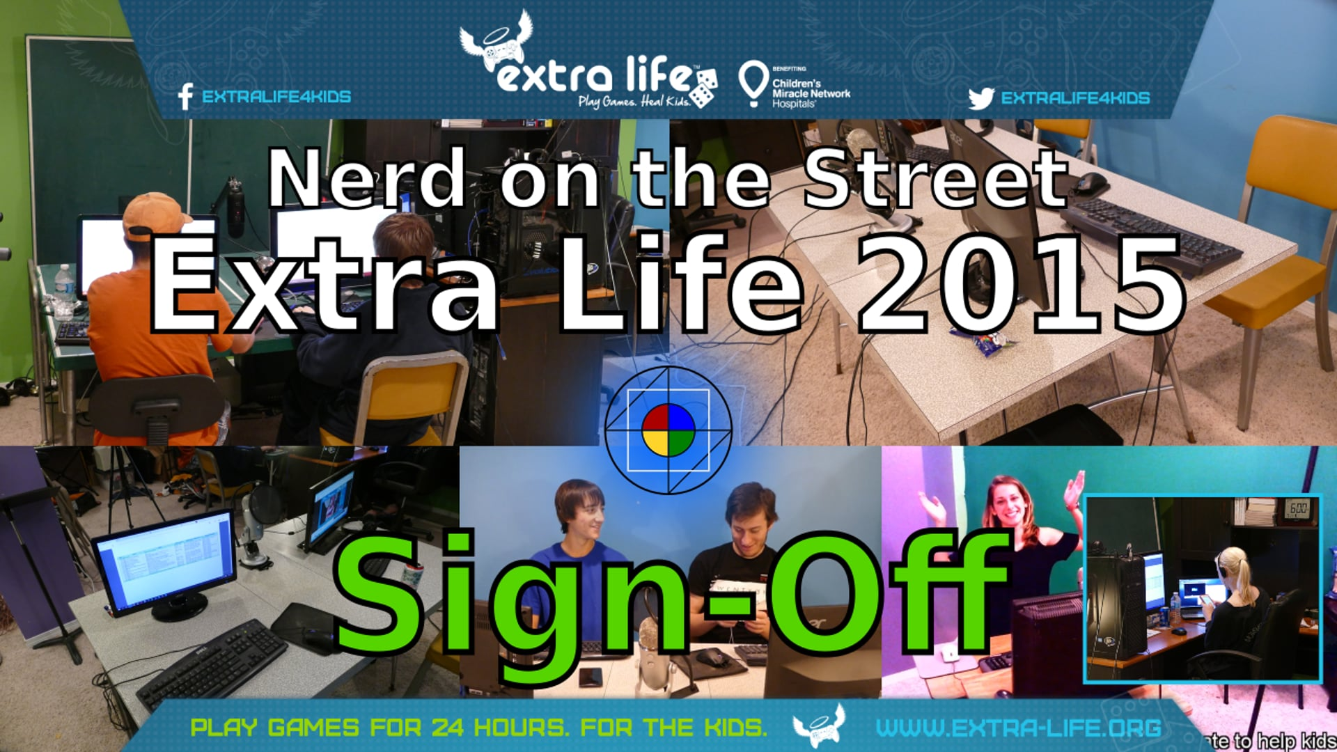 Extra Life 2015 Sign-off