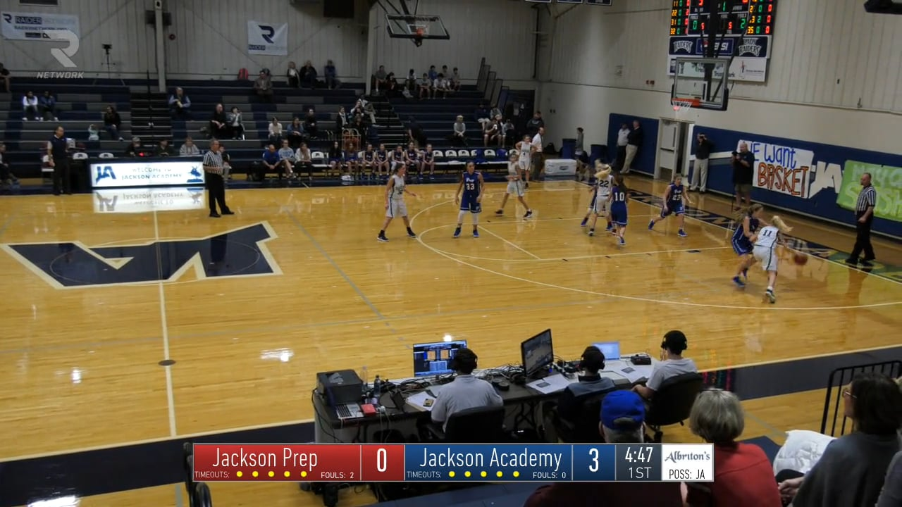 JV Girls Basketball-2018-Jan-9-Jackson Prep
