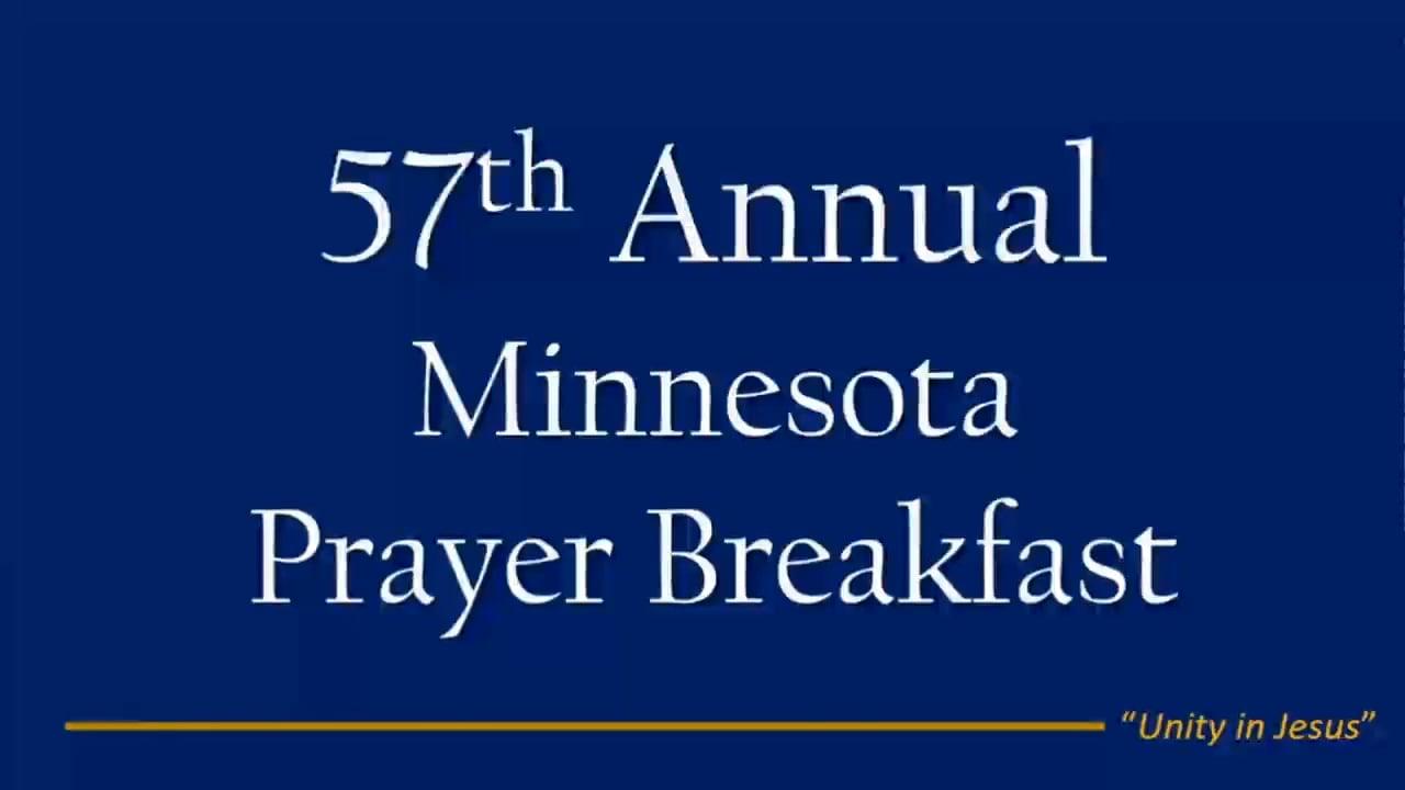 2017 MN Prayer Breakfast
