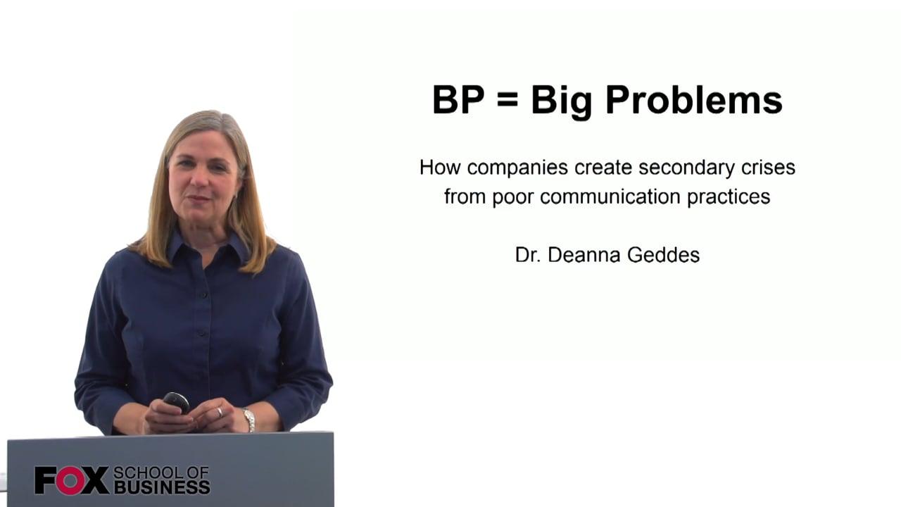 60165BP = Big Problems