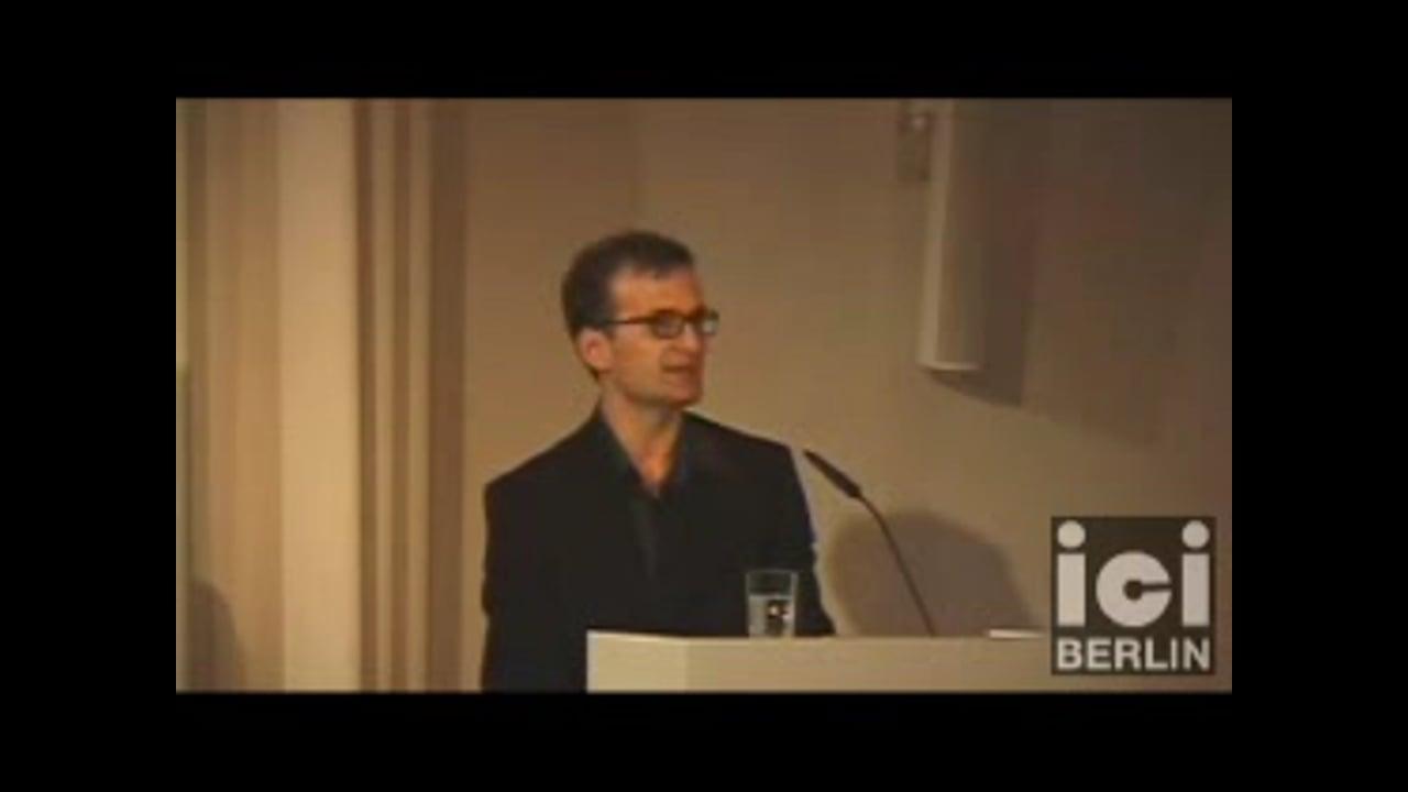 Introduction by Manuele Gragnolati