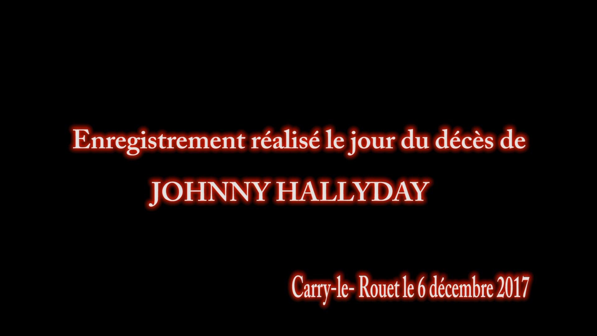 HOMMAGE A JOHNNY HALLYDAY