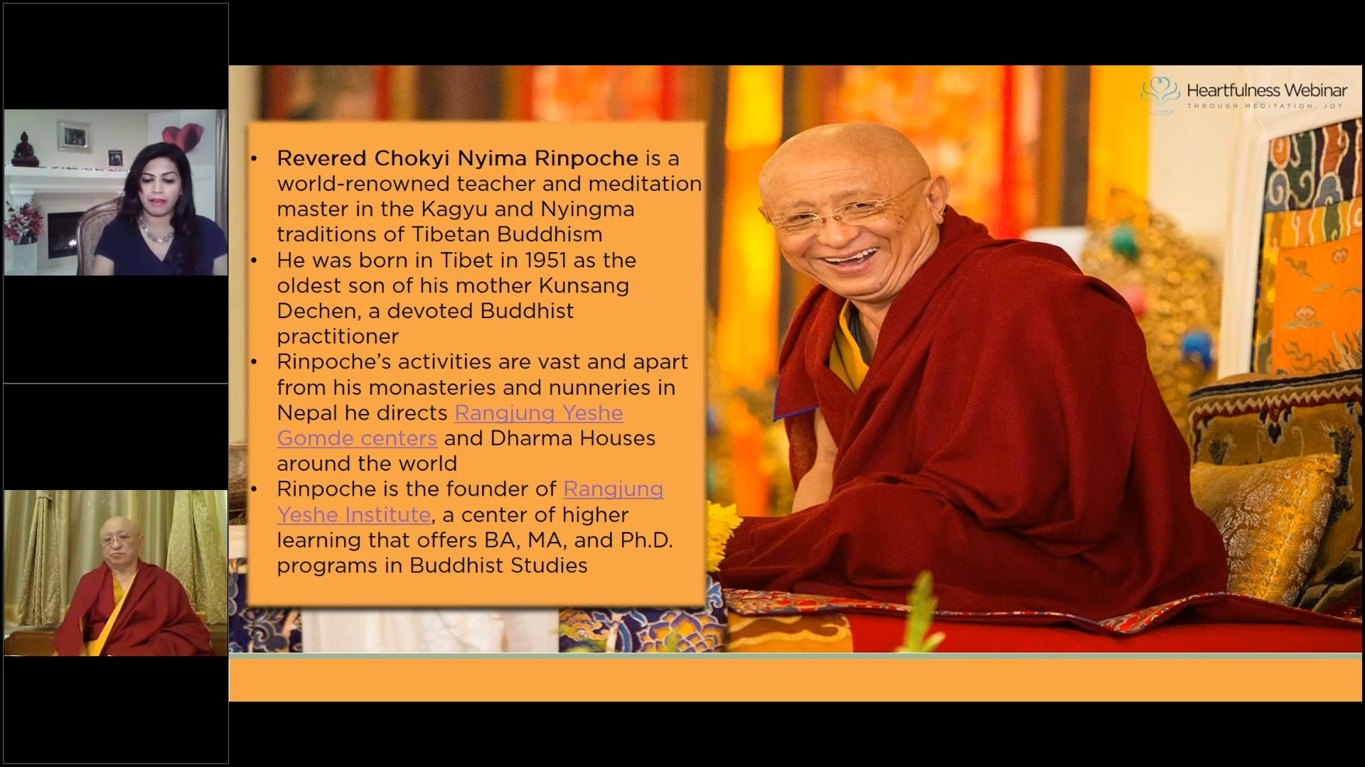 Kindfulness is Life by Revered Chokyi Nyima Rinpoche, world-renowned teacher and meditation master in the Kagyu and Nyingma traditions of Tibetan Buddhism