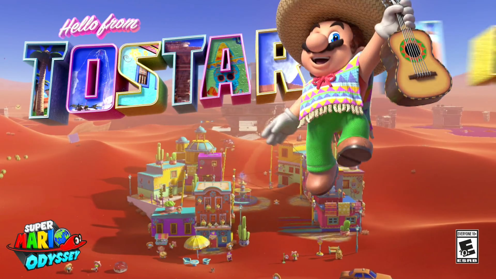 Super Mario Odyssey - Tostarena Spot #1