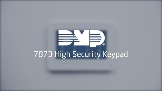 7873 High Security Keypad