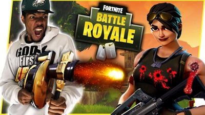 THE EVOLUTION OF JUICE'S GUN SKILLS! - FortNite Battle Royale