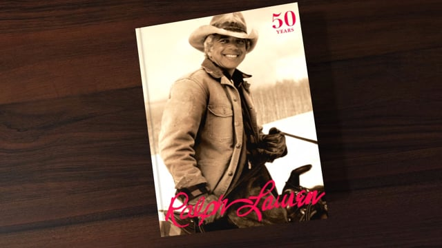 Ralph Lauren 50th Anniversary Book