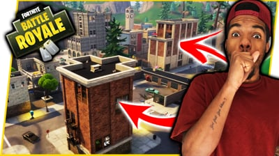 TRYING TO TAKE OVER TILTED TOWERS! - FortNite Battle Royale