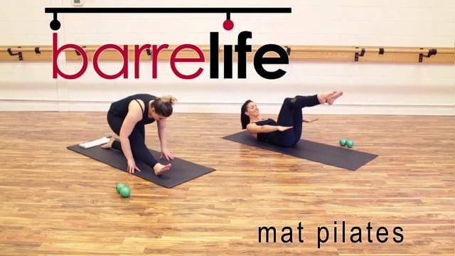 Barre Life Studio: Mat Pilates Class