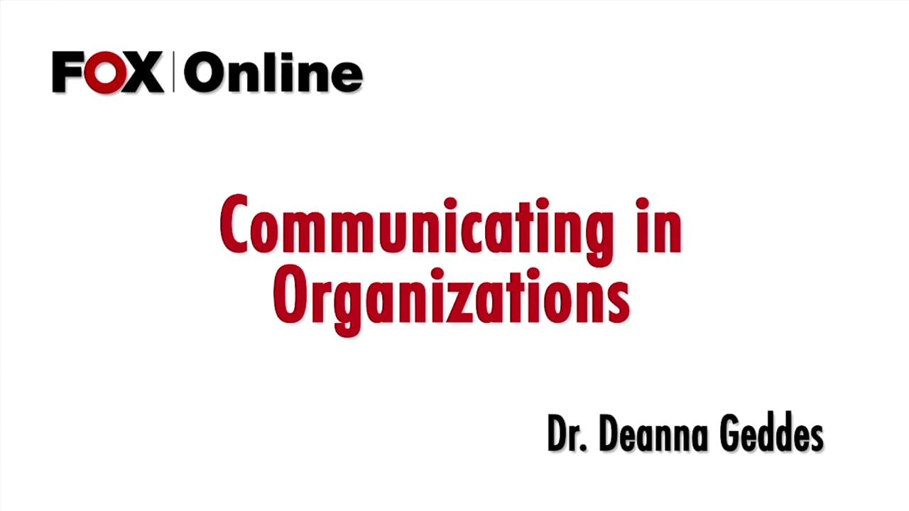 57231Orientation to Management Communication Styles