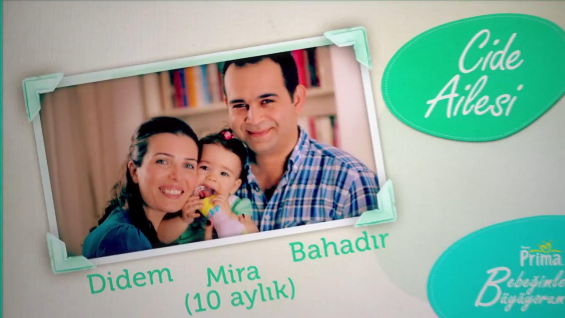 Selcen Ergun _ Prima Bebeğimle Büyüyorum Web Series Golden Mixx Awards