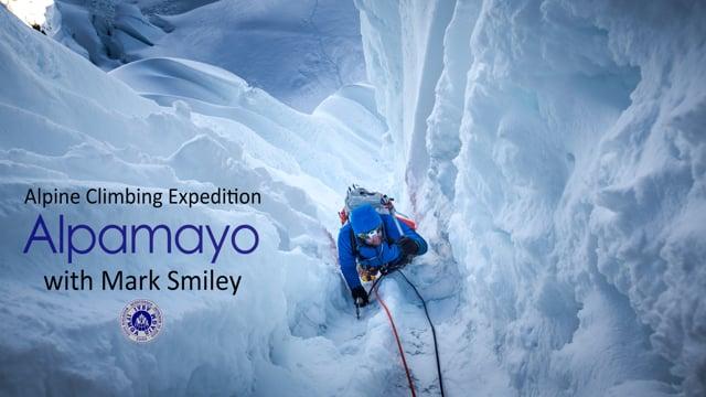Swinging Ice Tools Above 19000 feet – Alpamayo Peru from Mark Smiley