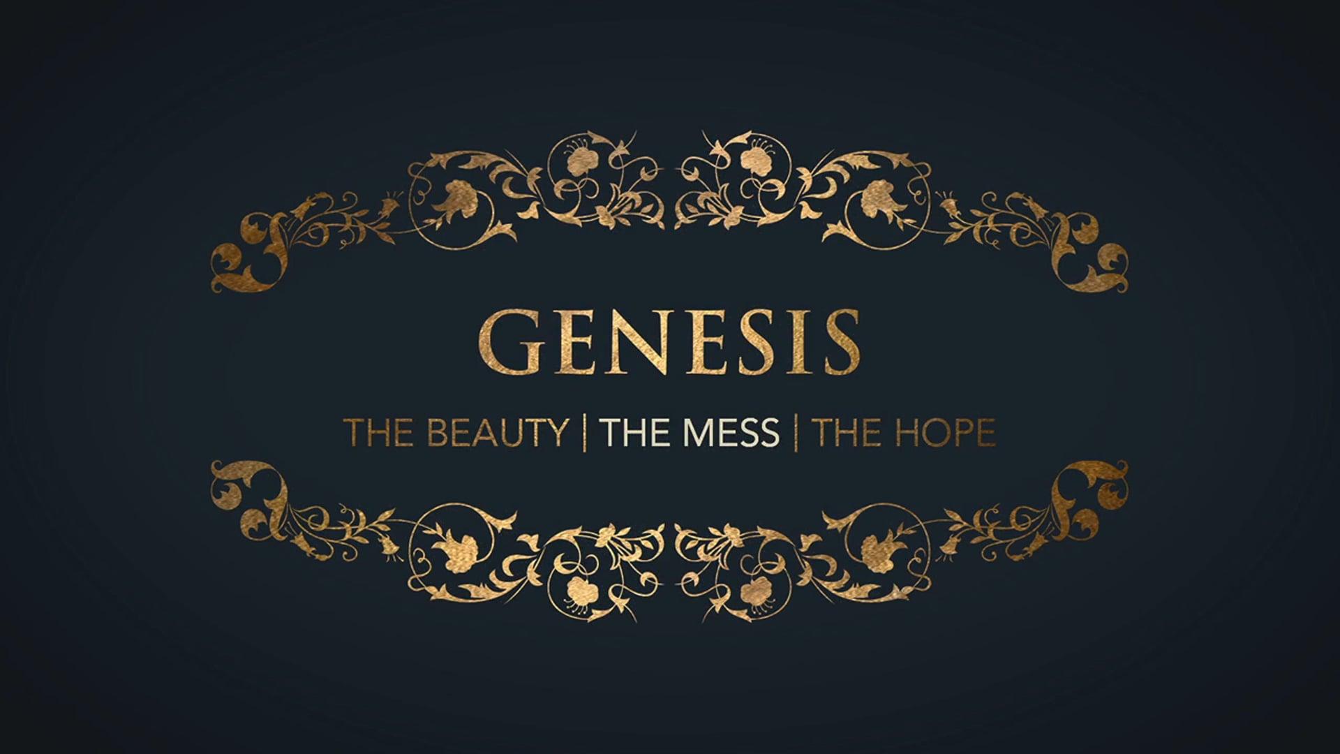 Week 4: Genesis: The Mess of Sin