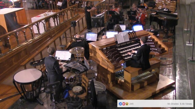 Church of St Paul The Apostle Midnight Mass Live-streamed on Facebook