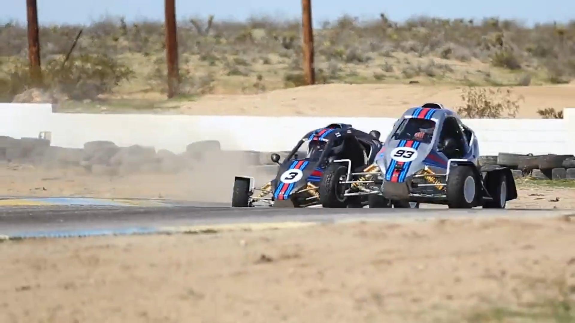 Field Trip | CrossKart Tandem Drifting at Grange Motor Circuit