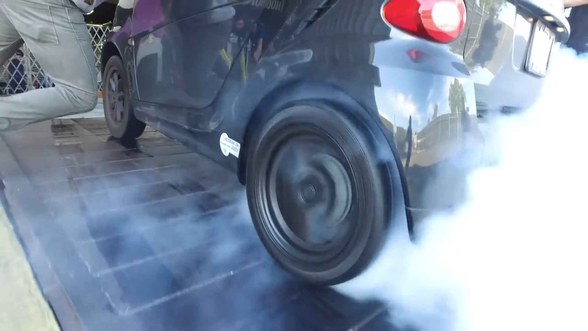 Daily Transmission | Electric Smart Car Burnouts Donuts and Other Bad Ideas