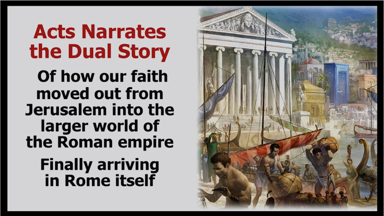 Journey Through the Bible: The Story of the Early Church and Acts