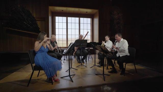 Jessica Sindell, Alex Klein, Mark Nuccio, Frank Morelli, Daniel Hawkins play Ravel: Le jardin féerique from Ma mère l'Oye