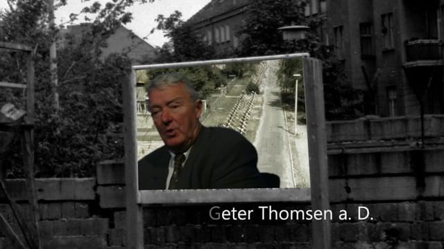"""Peter Thomsen: (3) Die Sperren des """"Antifaschistischen Schutzwalls"""""""