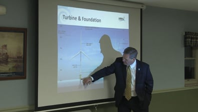Thumbnail of video Wind Turbines in Lake Erie