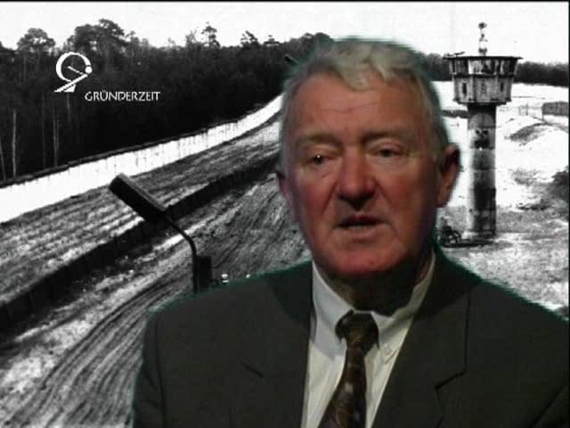 Peter Thomsen: (2) Vergatterung vor dem Grenzdienst
