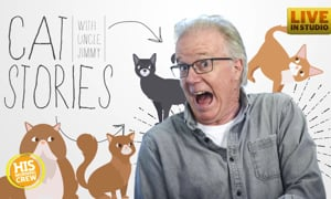 It's Cat Story Time with Uncle… Dan from Hawk Nelson??