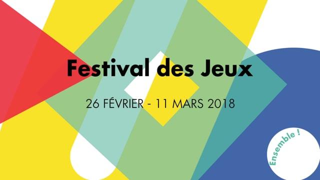 Festival des Jeux 2018
