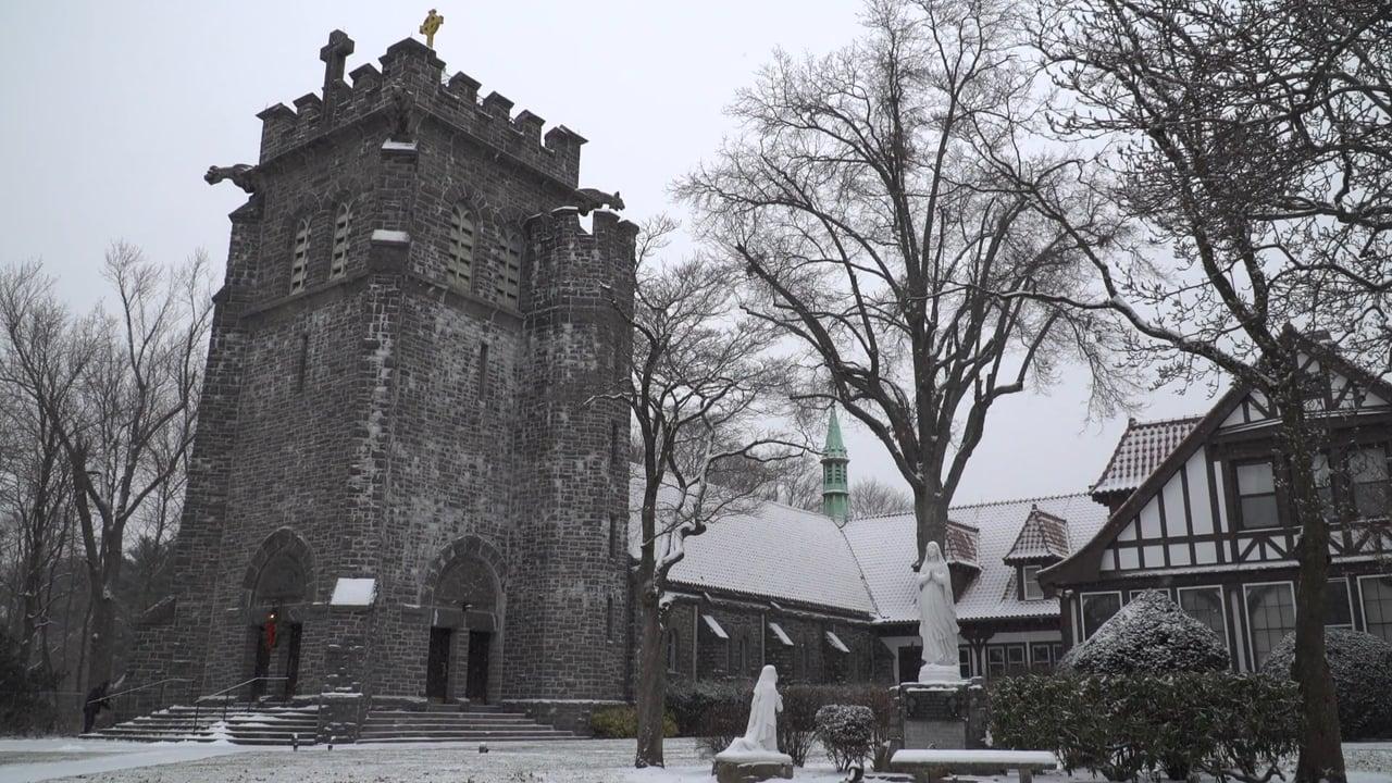 Winter Wedding at St. Peter of Alcantara & Plandome Country Club New York