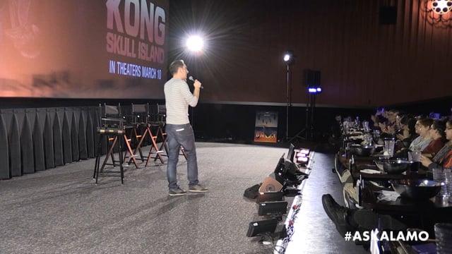 Kong: Skull Island Live-Stream Cast Q&A at Alamo Drafthouse
