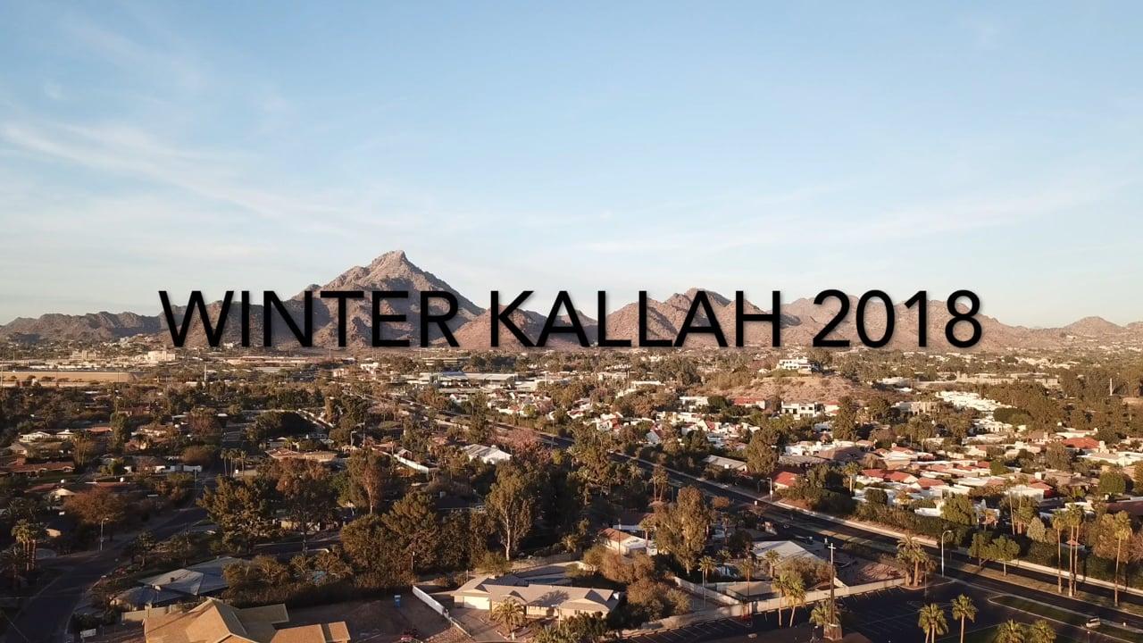Winter Kallah 2018 recap video