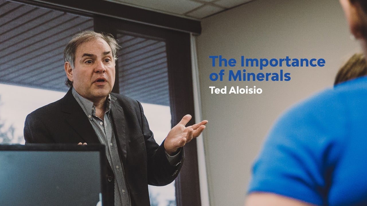The Importance of Minerals - Steps of Awareness