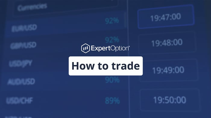 How to trade on ExpertOption