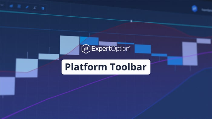 ExpertOption Platform Toolbar