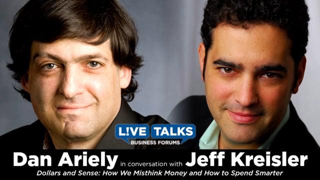 Dan Ariely in conversation with Jeff Kreisler