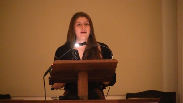 Millbrook Chapel Talk - Aria Bowden '18