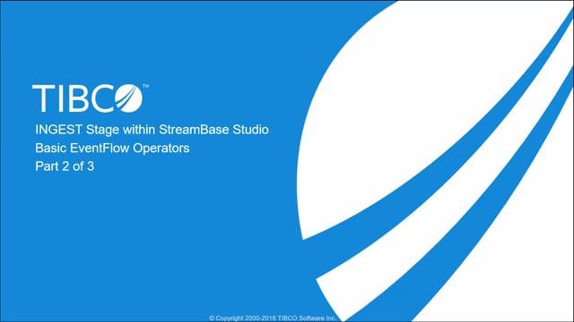 Streaming Analytics: Unit 4 Ingestion Phase Operators, Part 2 of 3