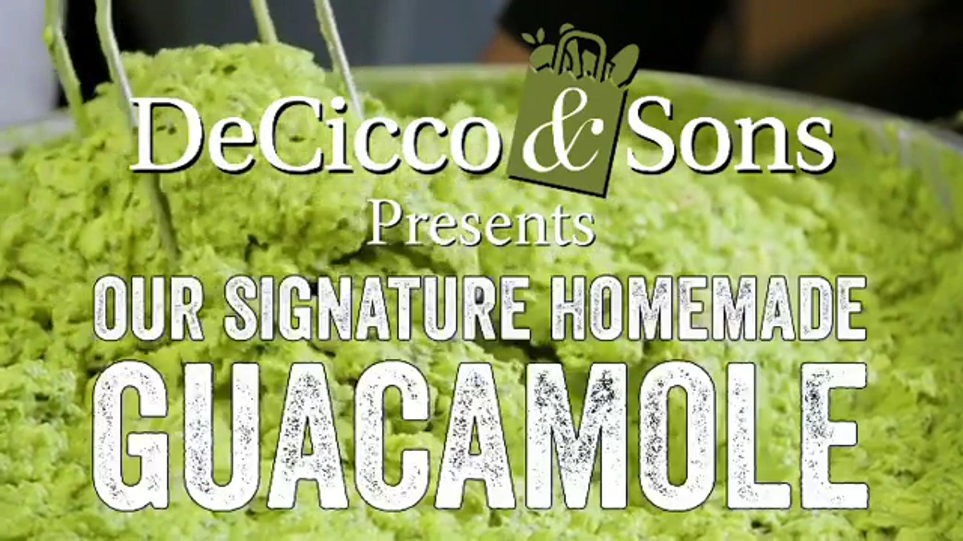 Advertising - Guacomole for Deciccos
