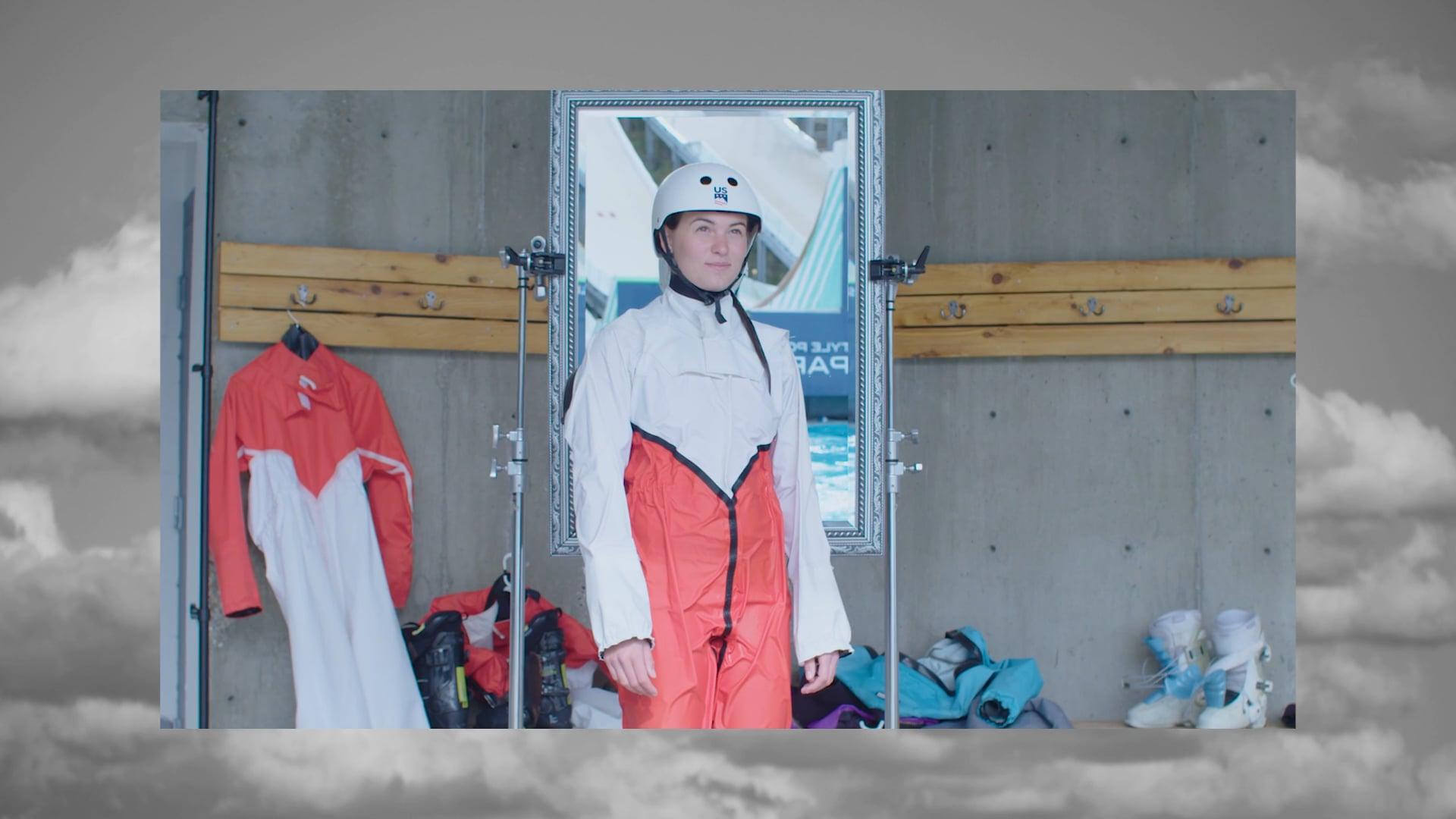 Vogue Magazine - US Women's Ski Jump Training