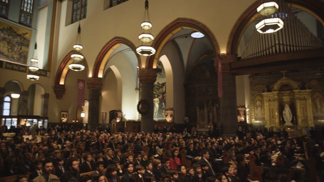Collegiate Winter Celebration at the Church of St Paul the Apostle