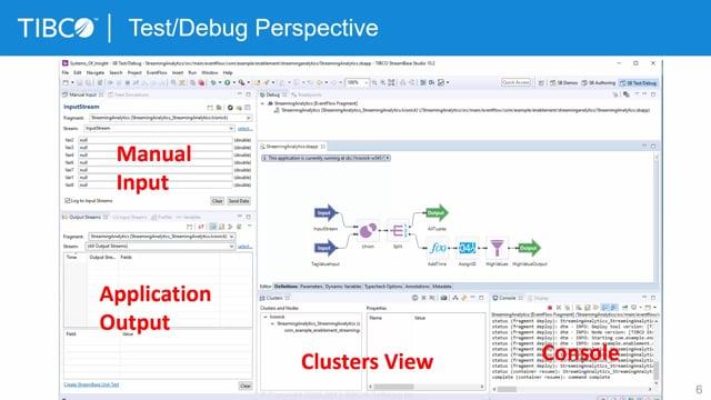 StreamBase Studio Manual Input, Test and Debug Part 1