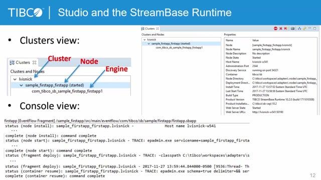StreamBase Studio Manual Input, Test and Debug Part 2