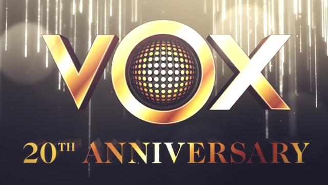 VOX Awards intro