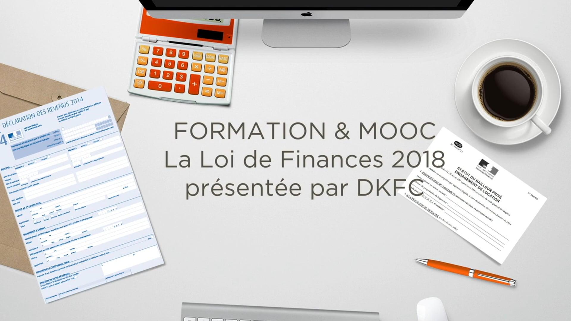 LOI DE FINANCES 2018 & TEASER