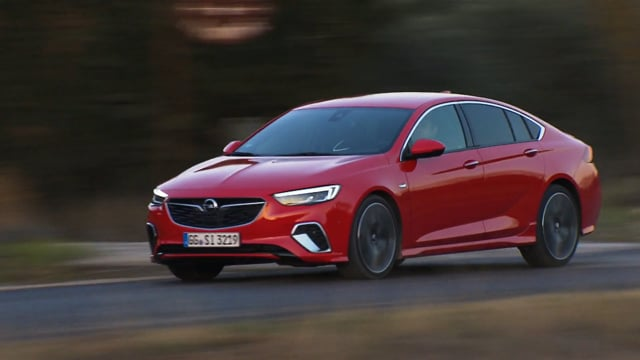 Insignia GSi Grand Sport On location Provence Footage