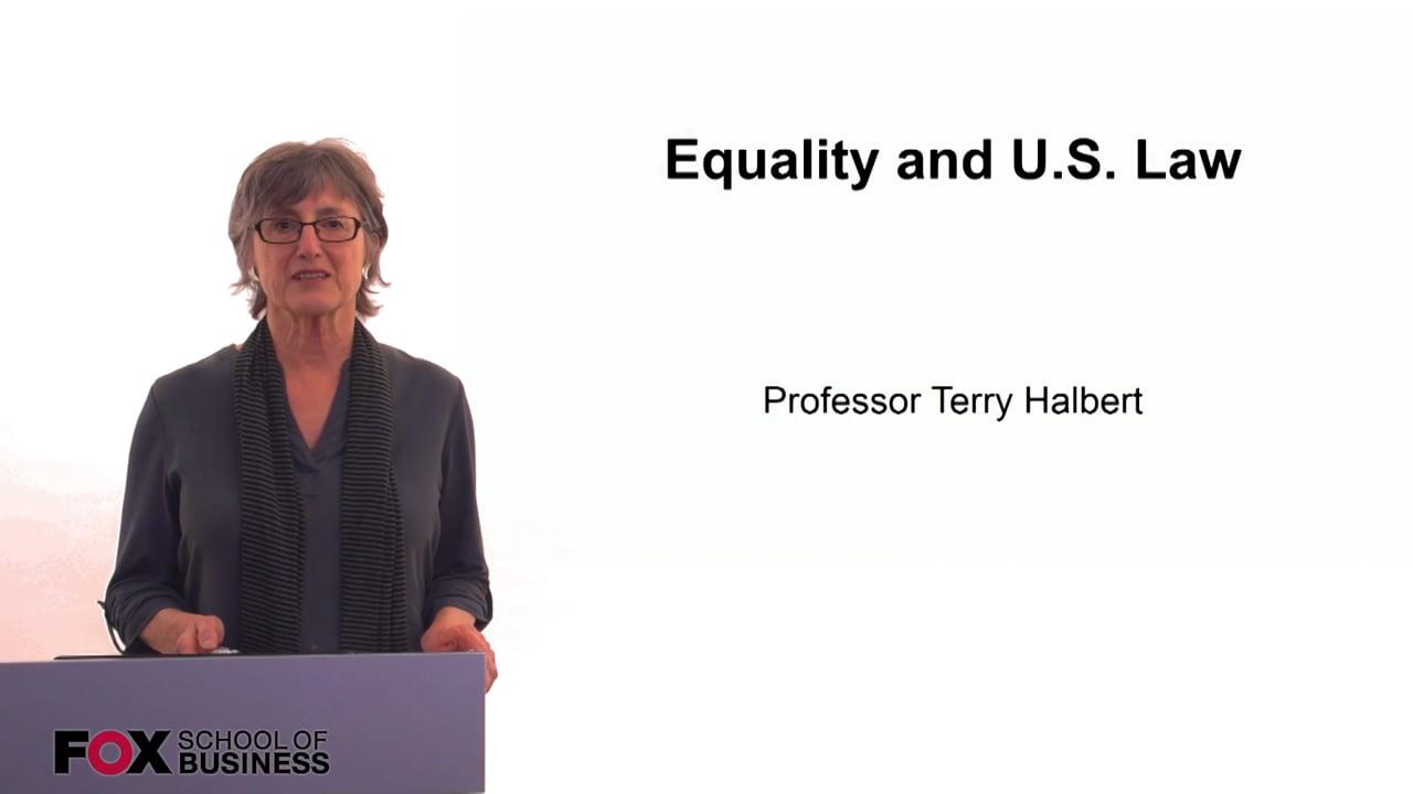 60273Equality and U.S. Law