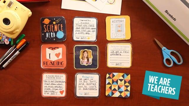 DIY Classroom Memories Coasters, We Are Teachers
