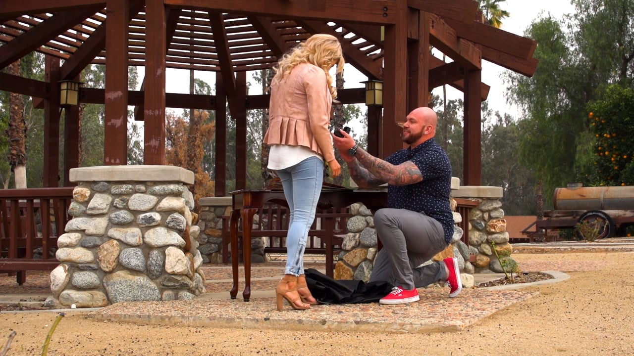 James and his Surprise Proposal of Marriage to Esperanza at Citrus State Park. It's a Yes!