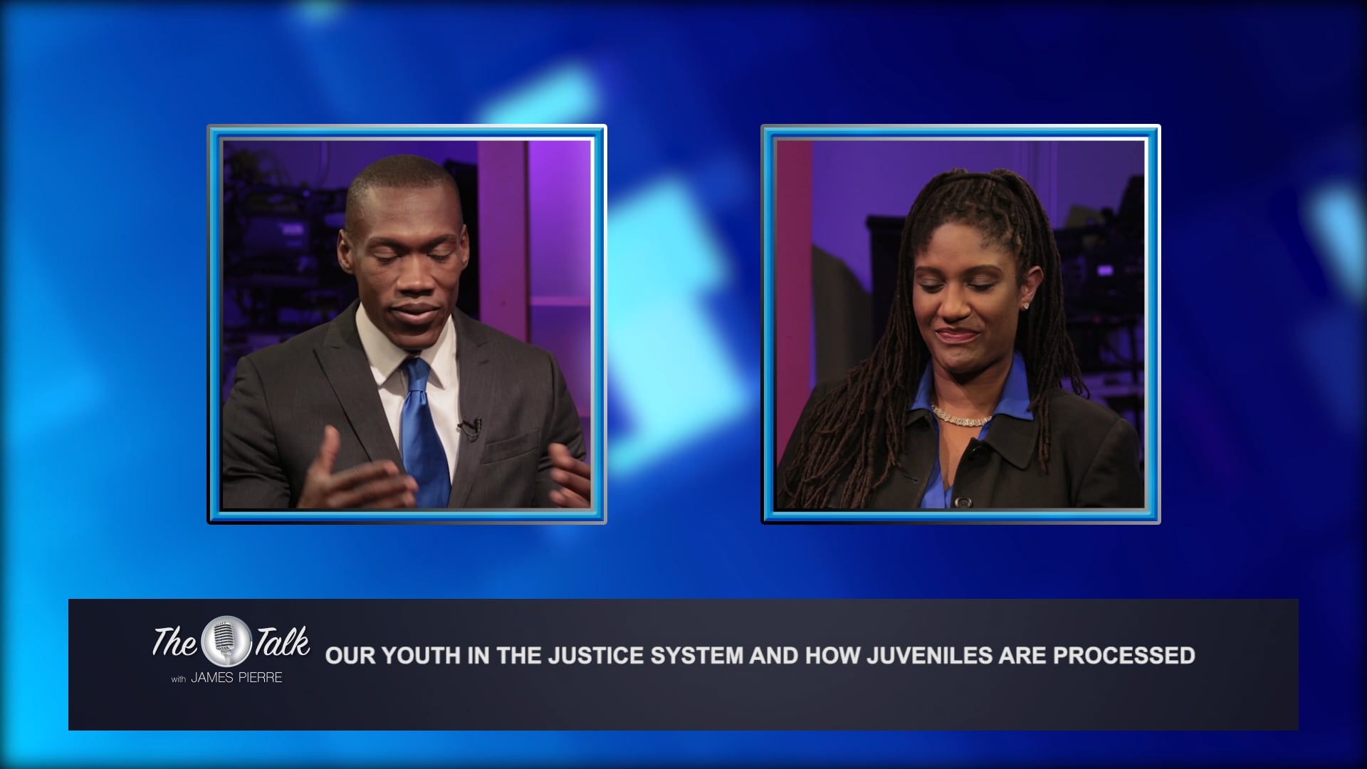 Dr. Shirley Sits Down With James Pierre