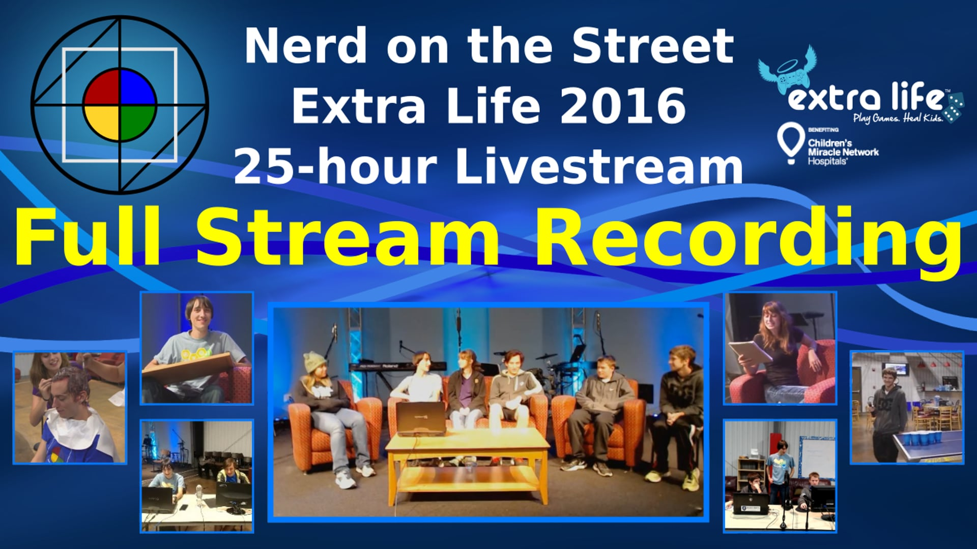 Full Stream Recording (Part 2 of 2) - NOTS Extra Life 2016