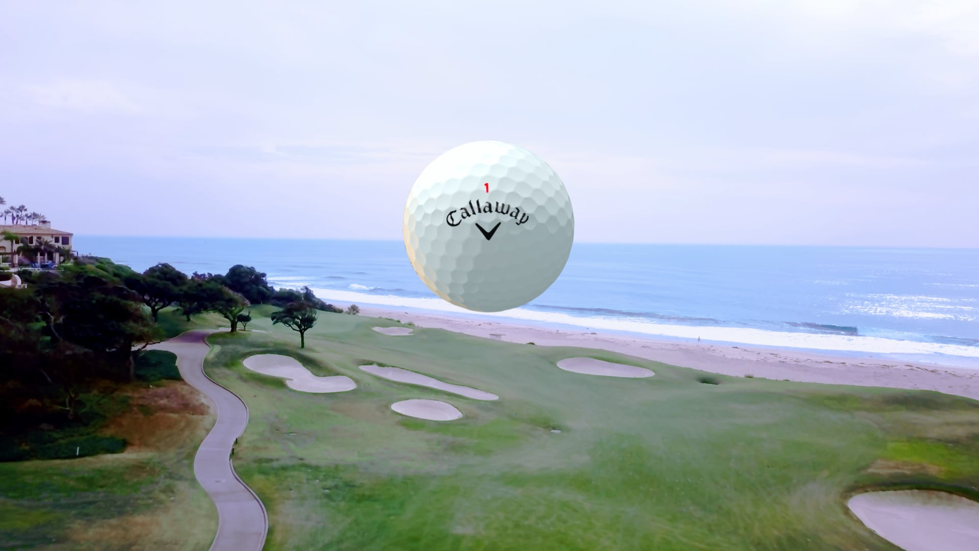 A Story of a Chrome Soft Golf Ball - Director's Cut   Time-Lapse Flow Motion